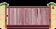 Рама откатных ворот Решетка на проем 4000мм х 2000мм
