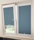 Рулонные шторы на пластиковые окна без сверления. Респект блэк.кремовый