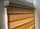 Рулонные шторы день ночь мини. Латина апельсин 1802
